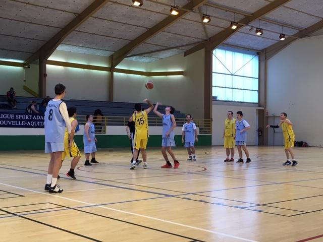 Basket championnat régional J1 2018-19 à Horsarrieu