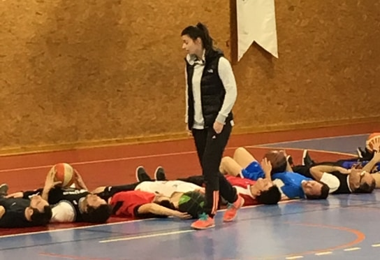 Dernière séance d'entraînements avec Maud Roussely